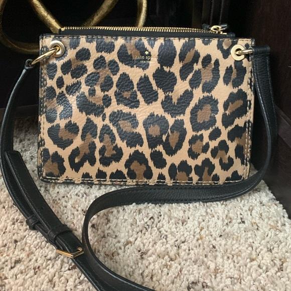 Kate Spade Leopard Crossbody Bag